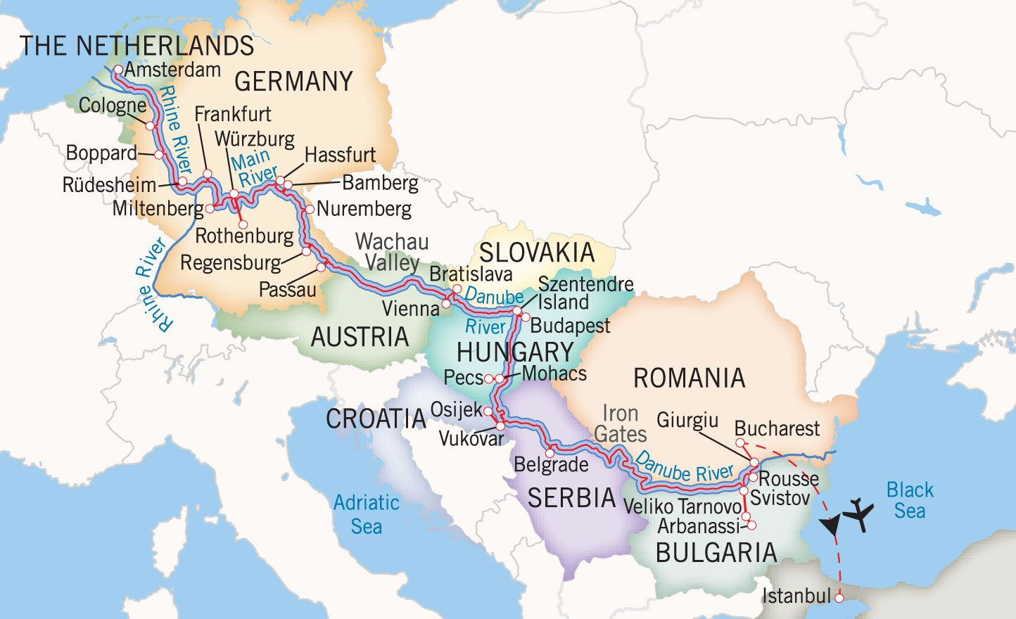 River Cruise Eastern Europe Bucket List Cruise Europe