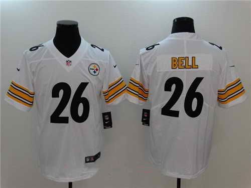 035b8a1ba  21 Men s Pittsburgh Steelers  26 Le Veon Bell Stitched White 2017 Vapor  Untouchable NFL Nike Limited Jersey