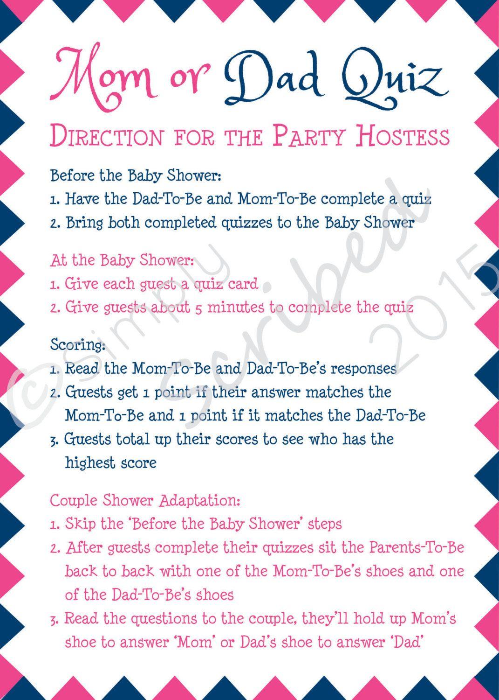 Printable Baby Shower Game