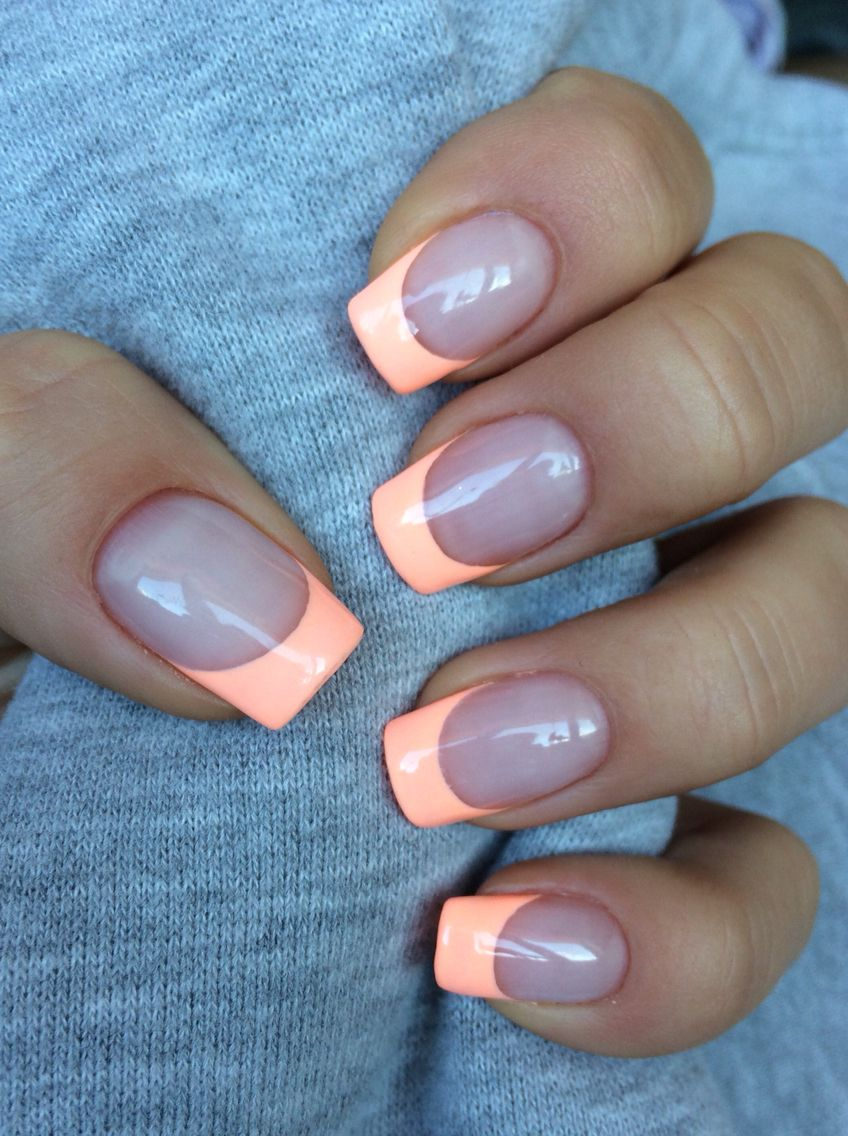 Apricot Nails | nails | Pinterest | Amazing nails