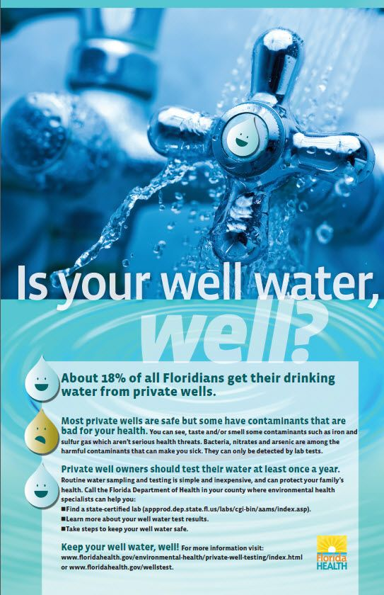 Private Well Testing | Florida Department of Health