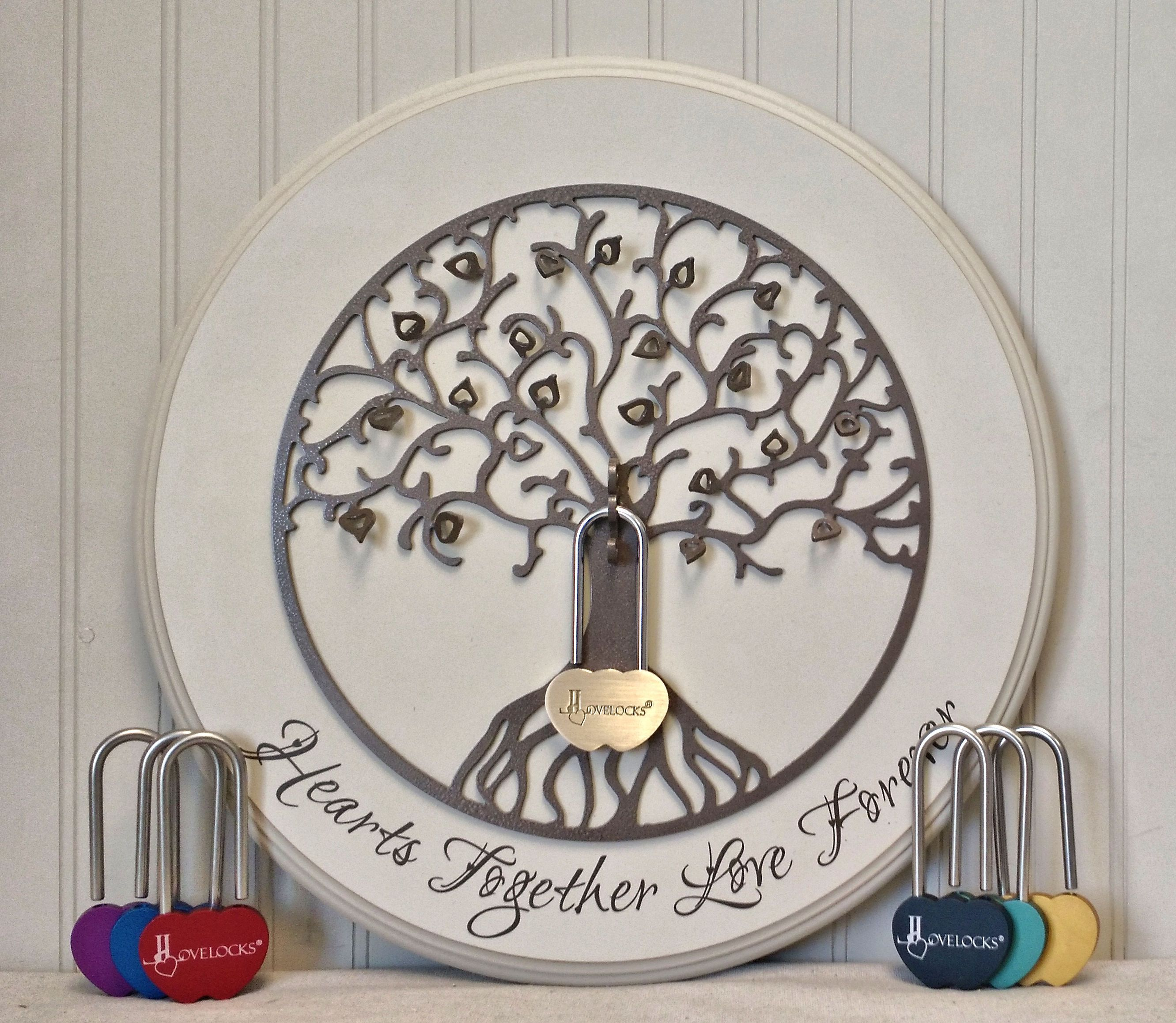 NEW Love Locks Limited Edition Tree Of Life...simple And