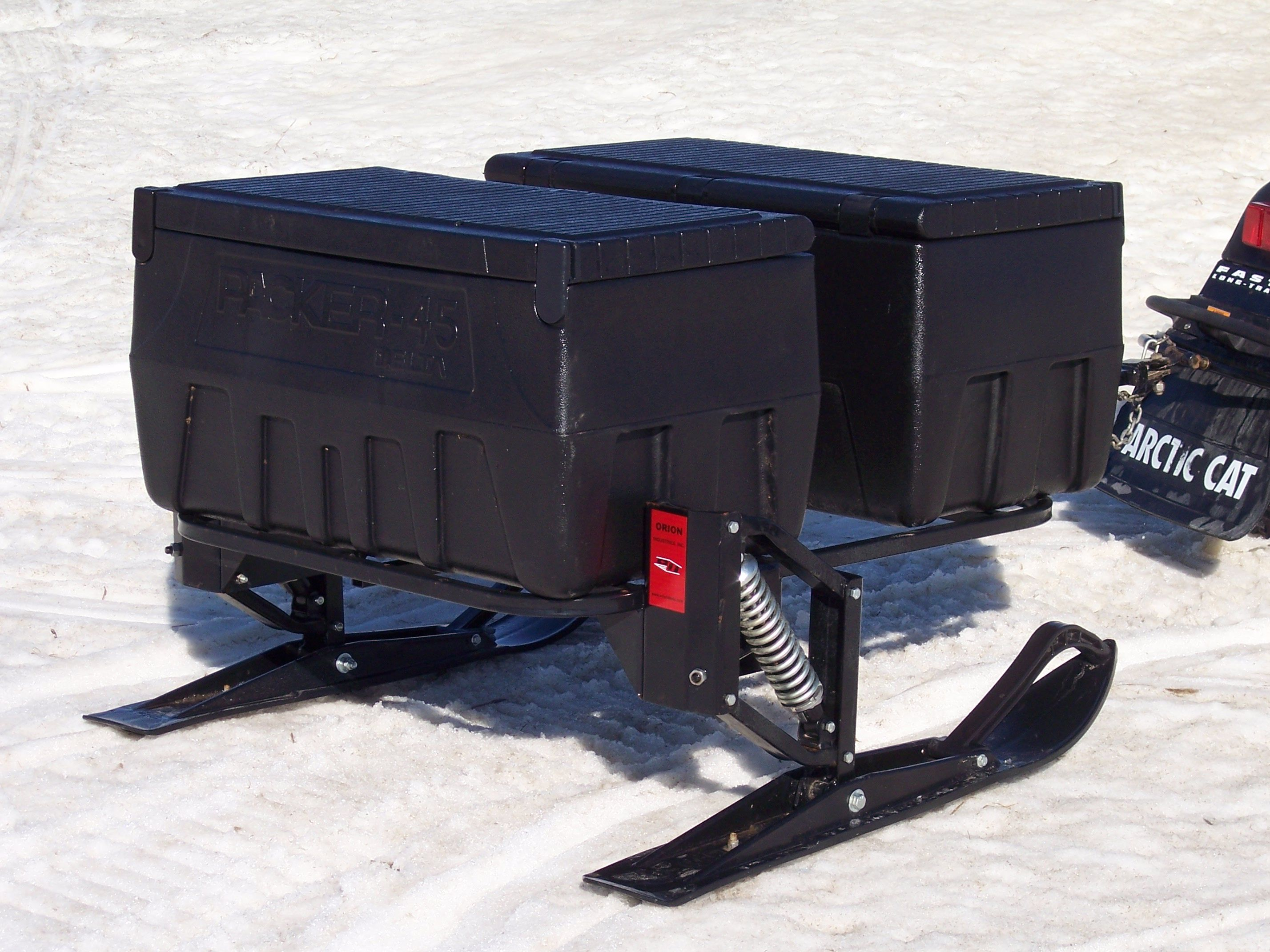 Orion Sleds Amp Trailers Llc Tote Sled Ice Fishing Shack