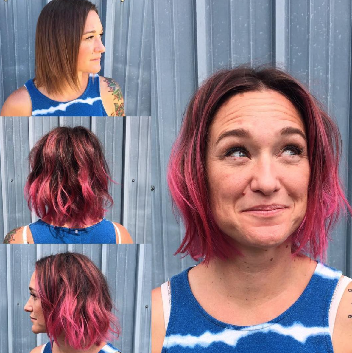 Before After By Deanna Westland Gt Theory Hair Salon Gt Montana