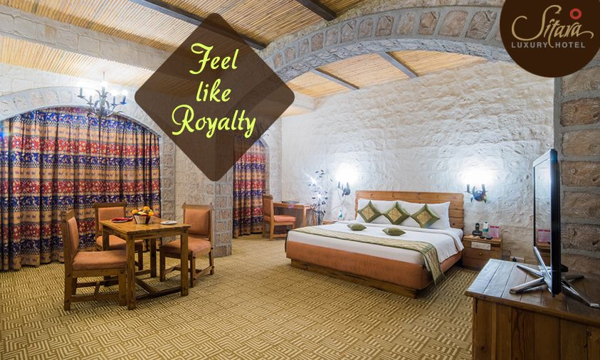 Enjoy The Most Enchanting Stay At Theme Suites Of Sitara Luxury
