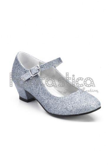 Zapatos plateado de verano formales infantiles MM5Fw8BdZ0