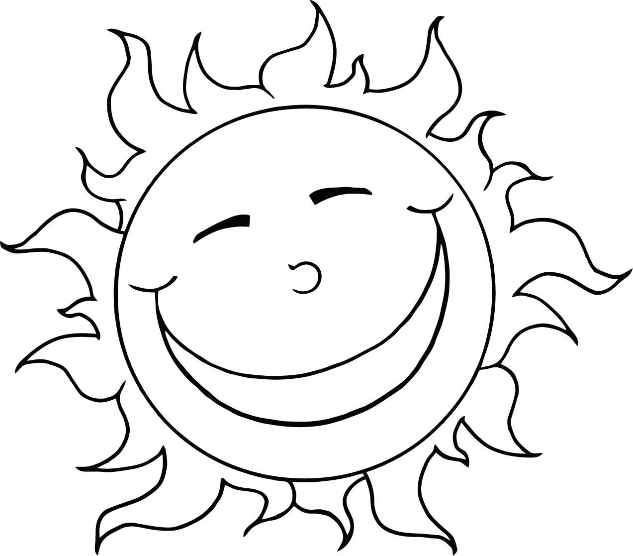 sun coloring pages to download and print for free - Images Coloring Pages Kids