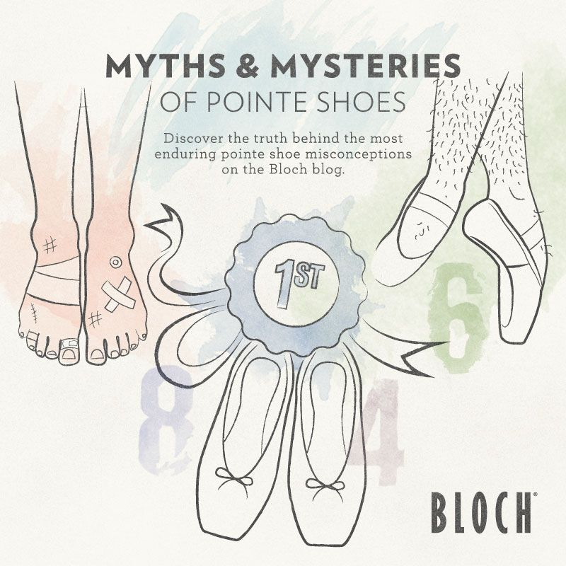 MYTHS & MYSTERIES OF POINTE SHOES | Pointe shoes, Ballet