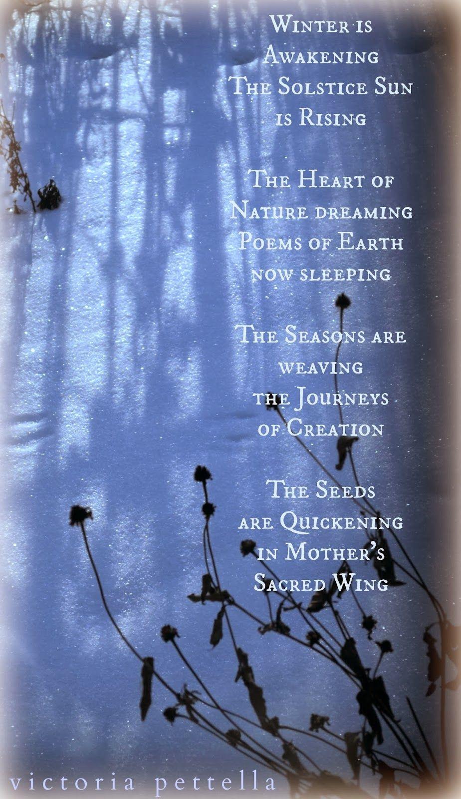 Winter Solstice Poems 1