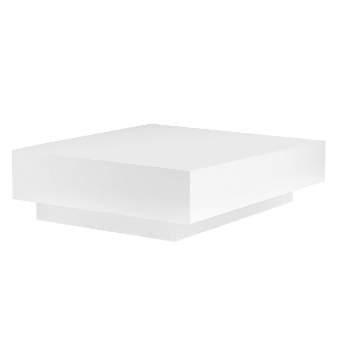 couchtisch quadratisch weiss hochglanz. Black Bedroom Furniture Sets. Home Design Ideas