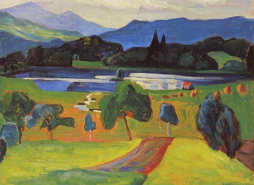Gabriele Münter ( Der blau Reiter)