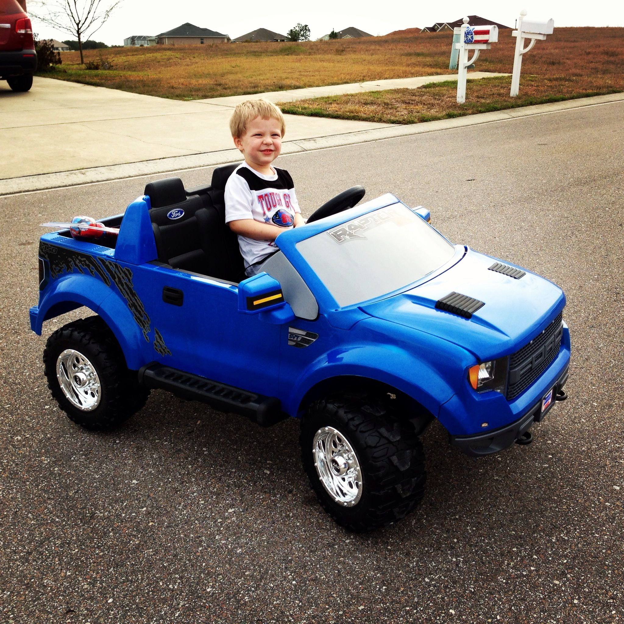 ford raptor power wheel getting this for my kid my. Black Bedroom Furniture Sets. Home Design Ideas