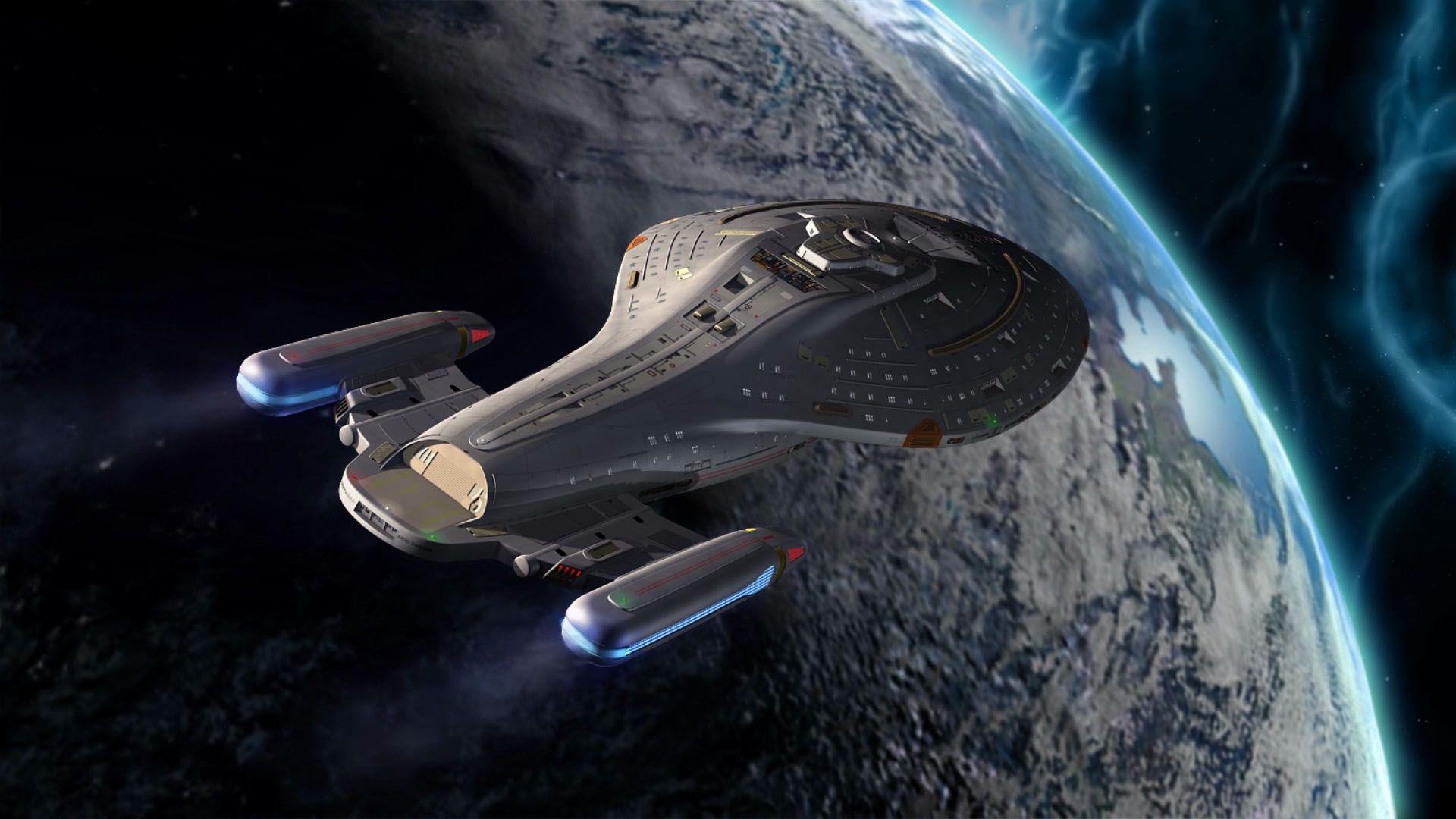 Star trek voyager spacecraft - Star Trek Voyager 51d46655b4c8a Jpg 1920 1080