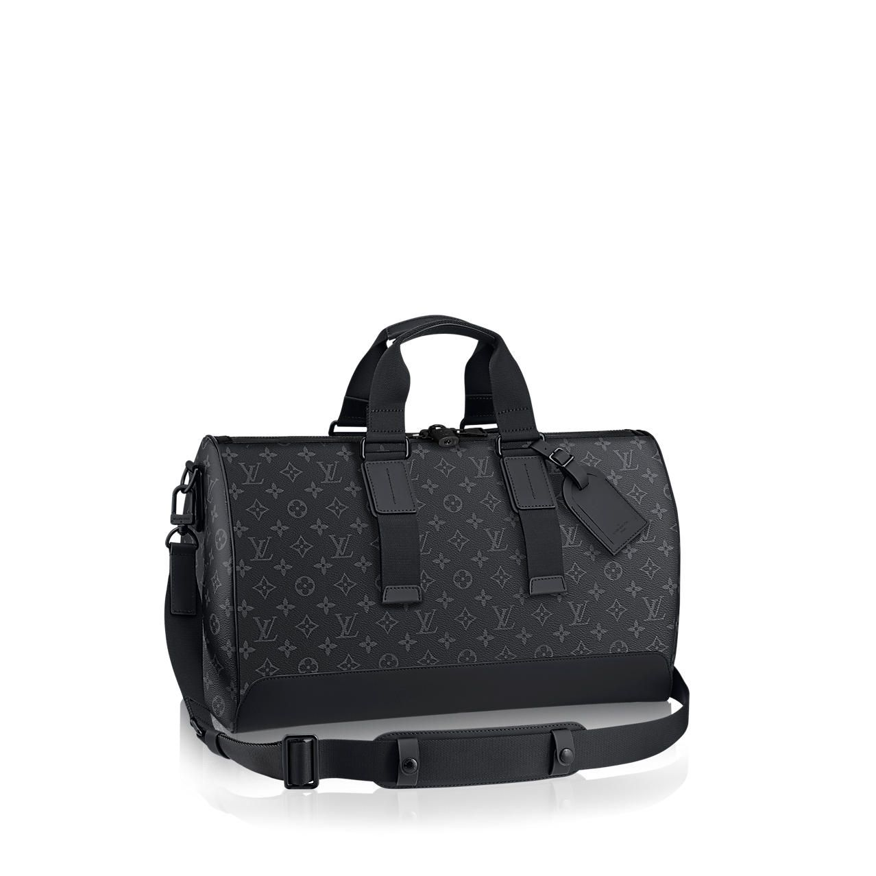 2a8ce5391 Discover Louis Vuitton Keepall Voyager: Inspired by the iconic Keepall, the Keepall  Voyager has a more supple feel and a sportier look thanks to the leather ...