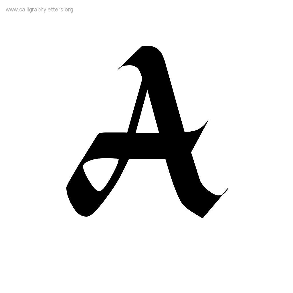 Image Result For Letter A Calligraphy  Art    Calligraphy