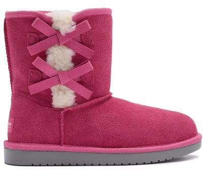 e57536f9b86 Koolaburra BY UGG Victoria Faux Fur Lined Suede Short Boot (Little ...