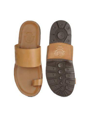 U.S. Polo Assn. Men Tan Sandals | Myntra