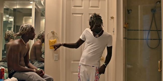 "Young Thug Hangs Out, Hooks Up With Himself in ""Best Friend"" Video"
