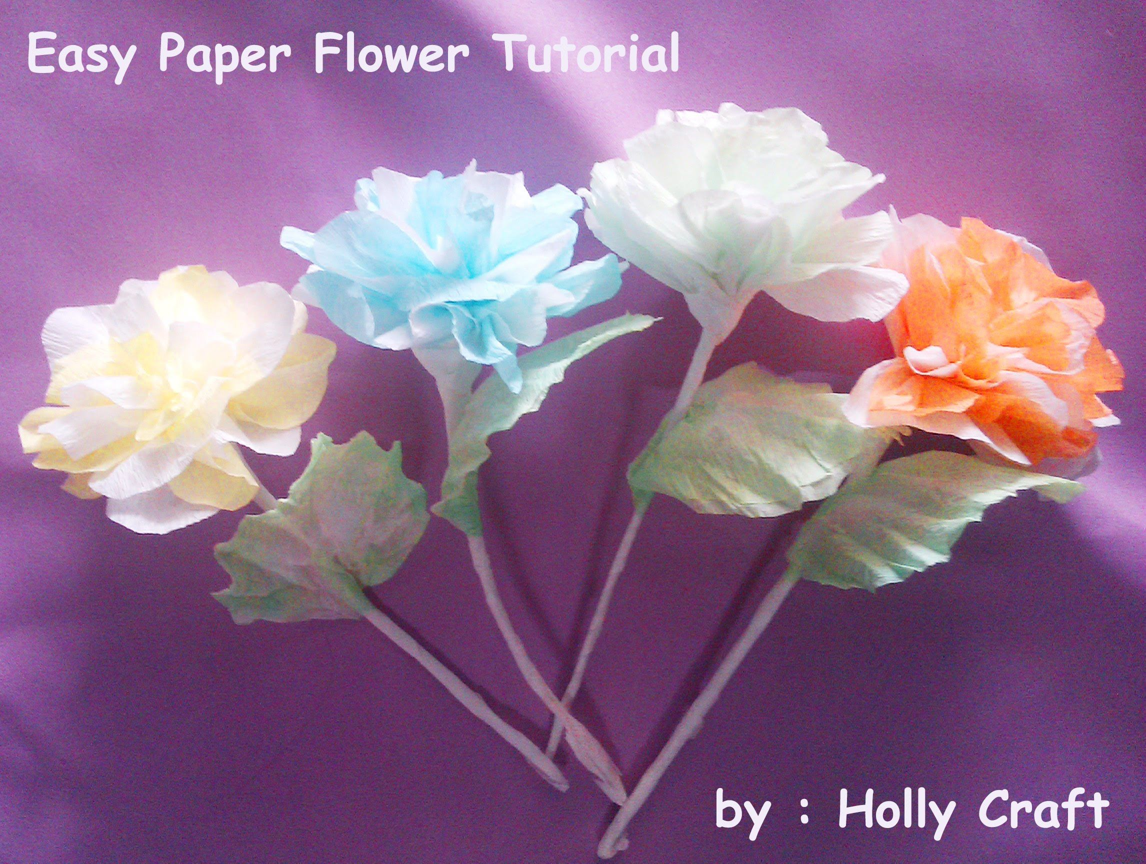 Make Flowers From Crepe Paper Streamers Google Search Paper