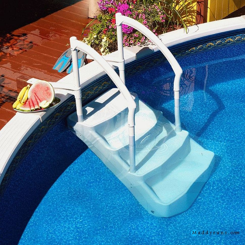 Swimming Pool Swimming Pool Ladders Stairs Replacement Steps For Swimming Pool Ladder Parts Ingrou Above Ground Pool Above Ground Pool Stairs In Ground Pools