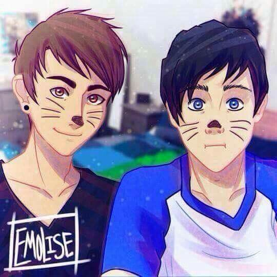 Happy day dan and phil became facebook friends