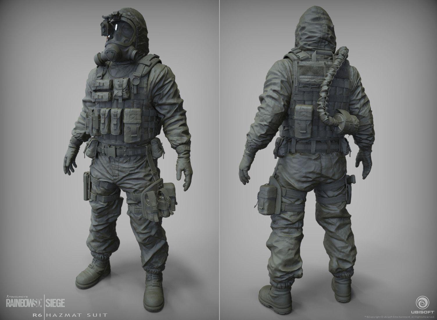 Rainbow Six Siege Gign Operators: Doc. CTU Operator I Made For Rainbow 6