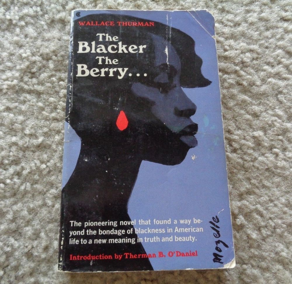The Blacker The Berry Book