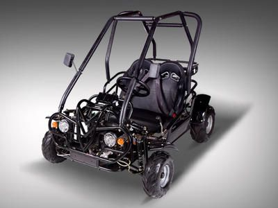 Yellow Jacket 110cc Go Kart :Semi-Automatic 3 Speed with Reverse