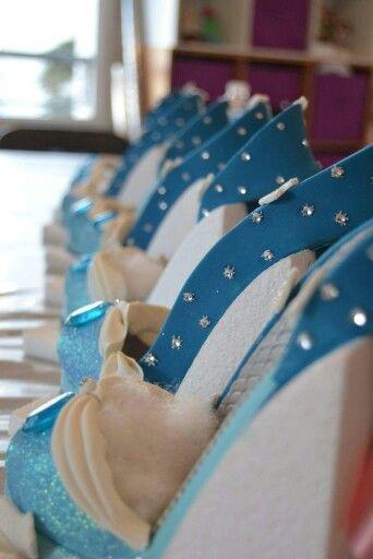 Shoe frozen #Gourmandises de Mary