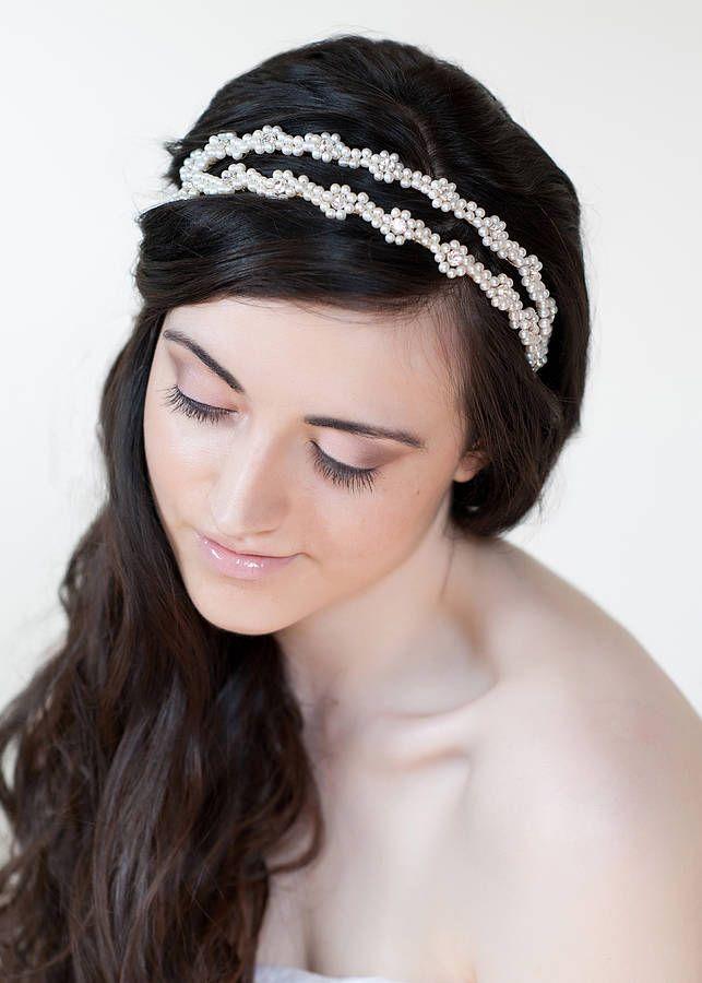 Daisy Chain Double Headband