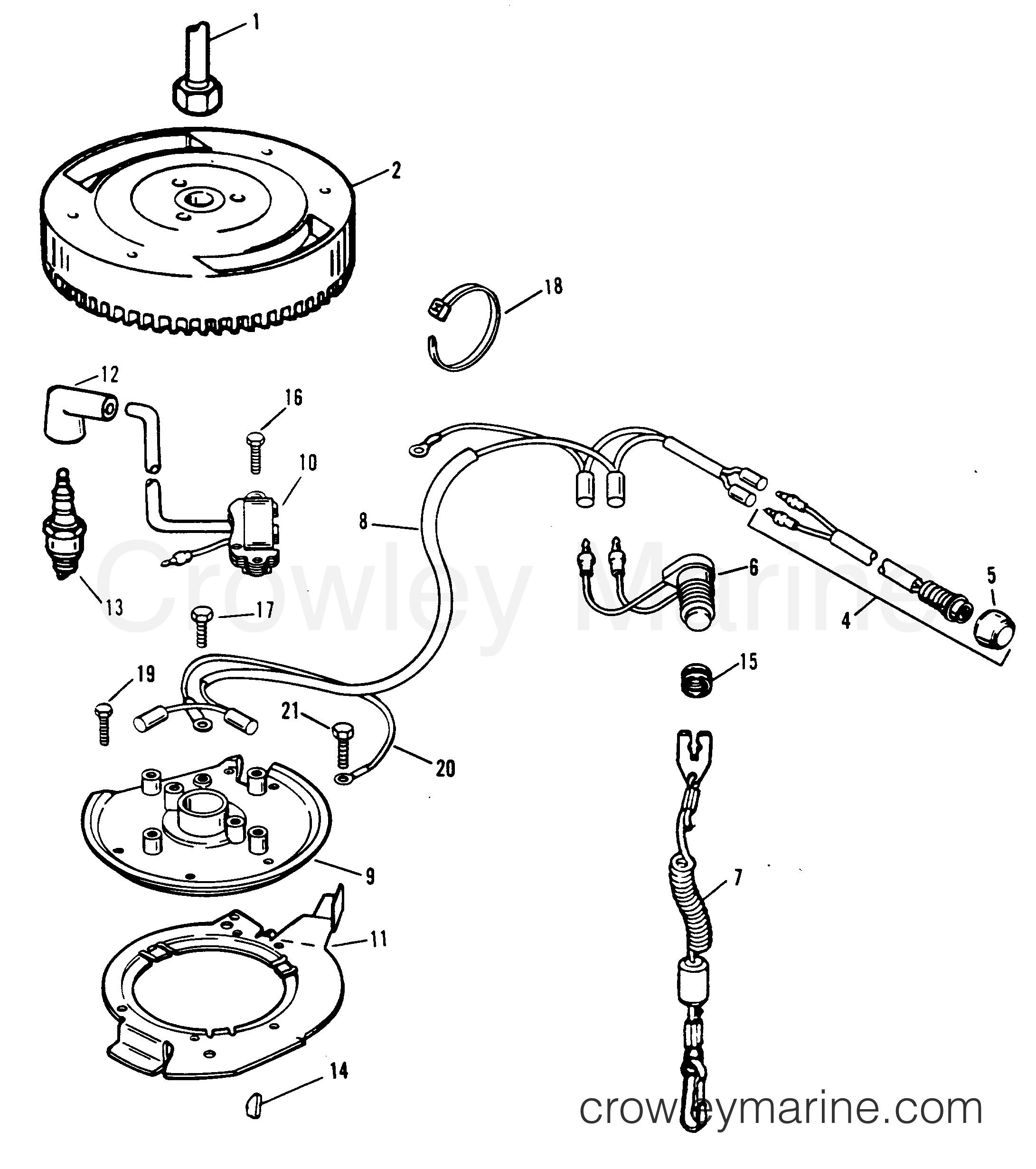 New Johnson Ignition Switch Wiring Diagram With Images Diagram