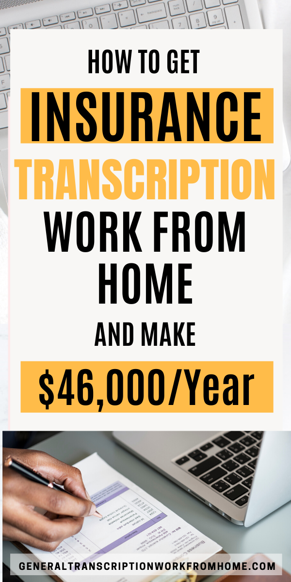 How To Get Insurance Transcription Work From Home Transcription