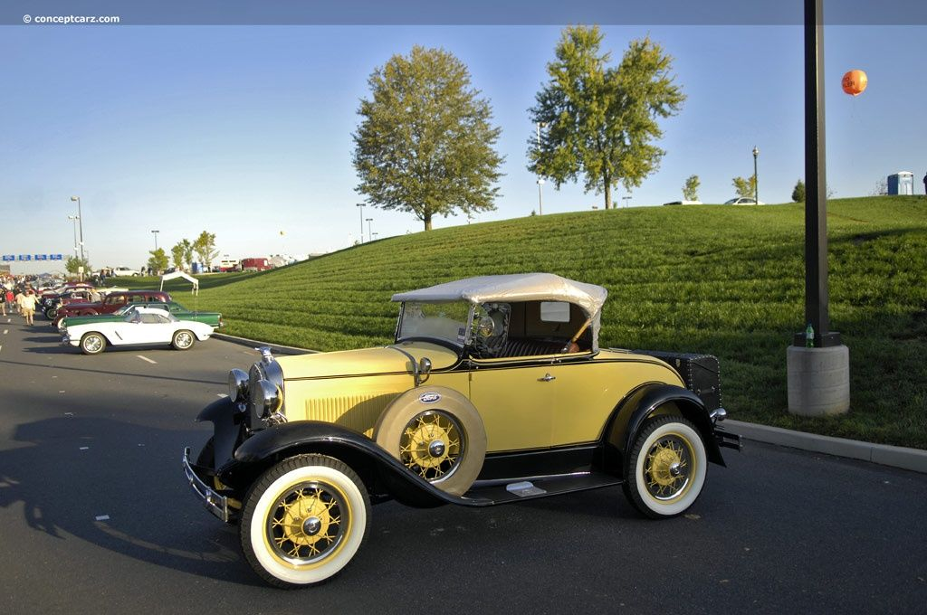 1931 Ford Model A Deluxe Rumbleseat Roadster / Hemmings Motor News ...