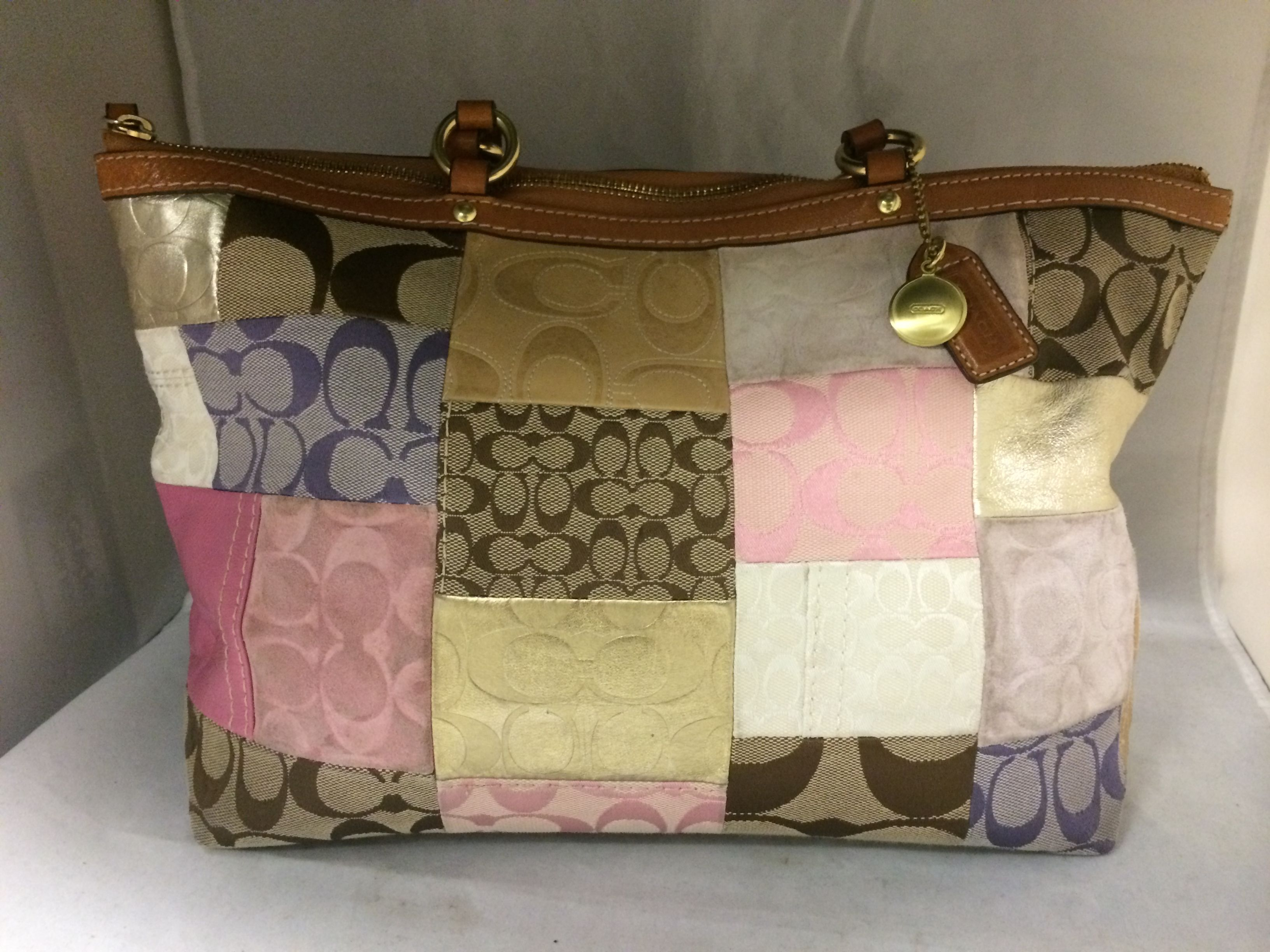 Patchwork Coach Purse 11711 Sold Was Available At Gadgets Gold In Gainesville Fl