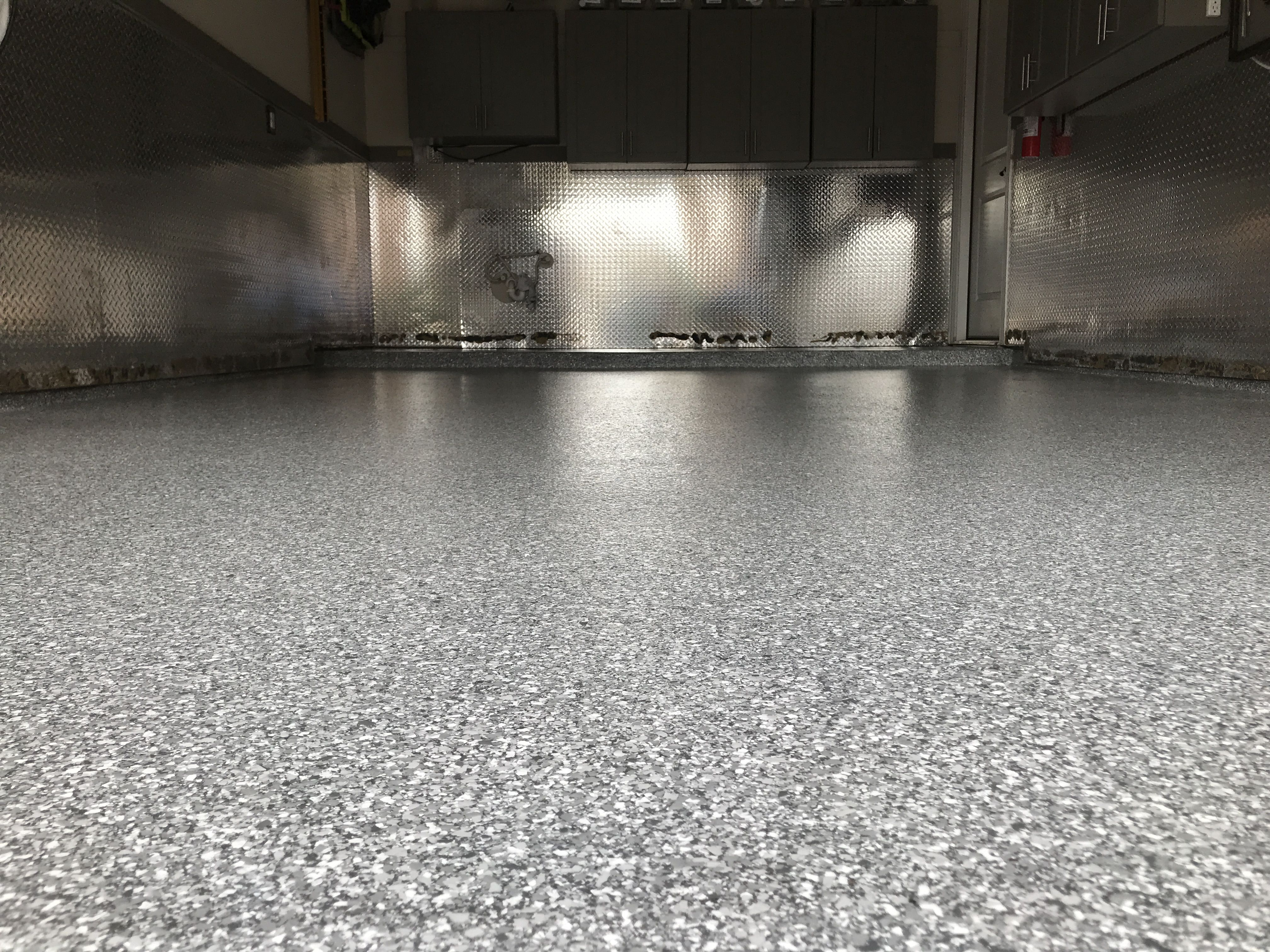 Classic Moonstone Epoxy Polyaspartic Garage Floor Keller