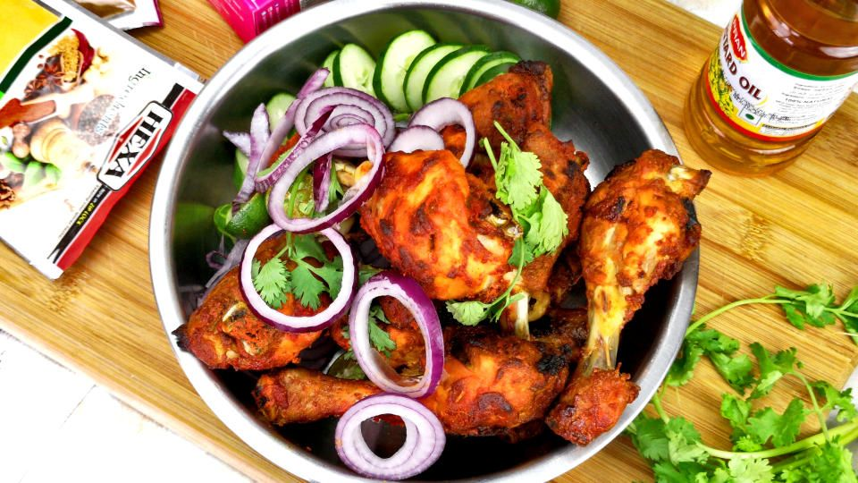 Chicken Tandoori in oven #tandoorichicken