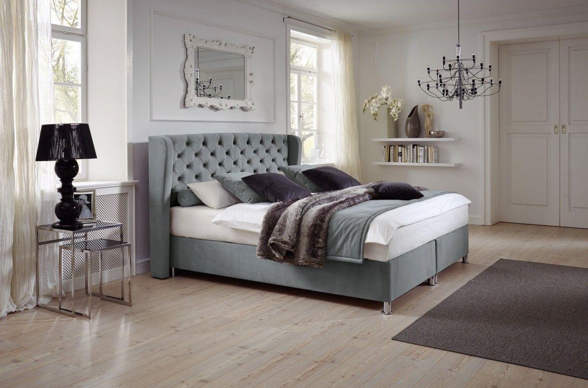 box komfortbett evertonl hellgrau kt 2 verschiedene gr en in 2018 bett pinterest. Black Bedroom Furniture Sets. Home Design Ideas