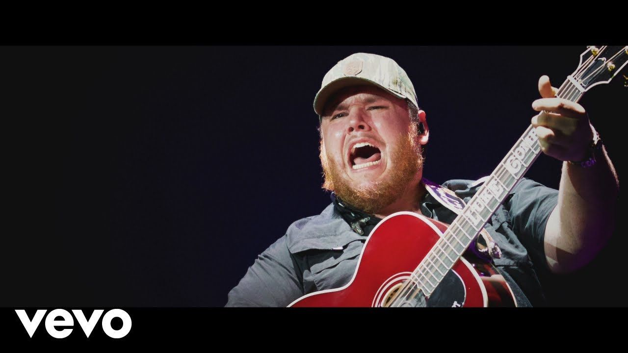 Luke Combs Lovin' On You Hot country songs, Country