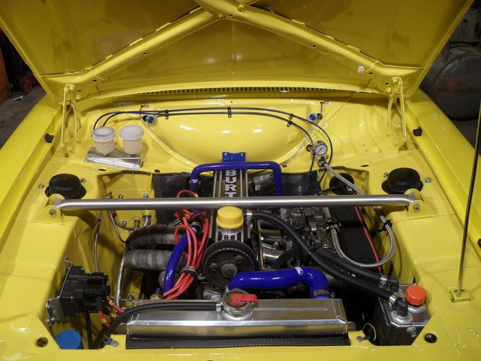 Pin Op Ford Escort Engine Bays