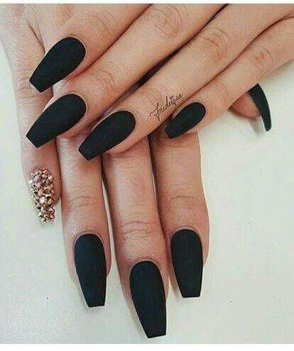 Matte Black Loving That Polish