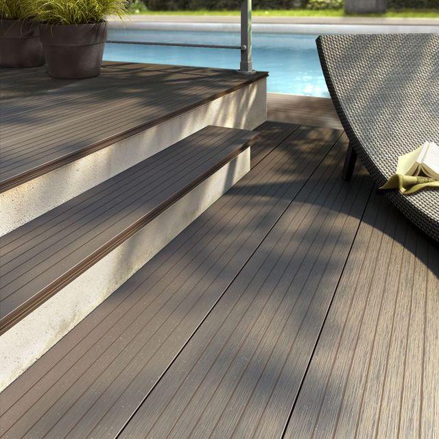 Plastic Wood Deck Boards Seller In Uk Outdoor Wood Plastic Wood Decking Wood Staircase