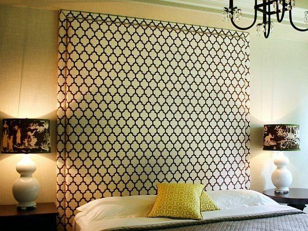 Gepolsterter Kopfteil Schlafzimmer