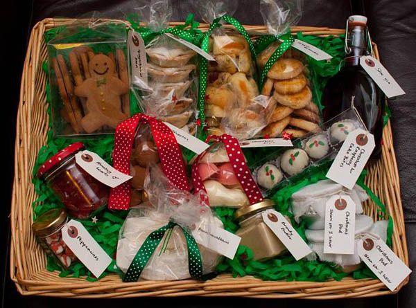 Homemade christmas food gift basket ideas