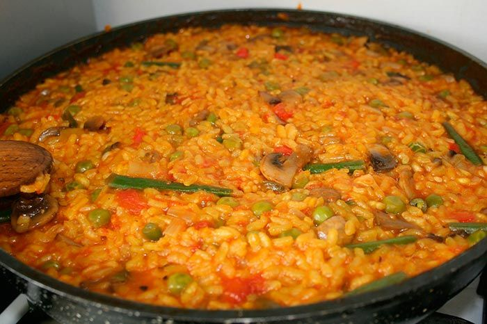 Paella Valenciana Recetas