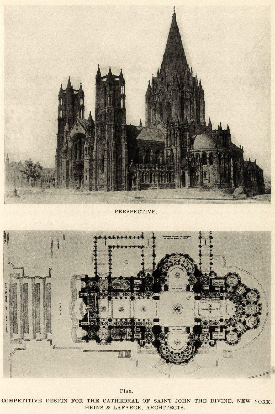 Competition Design for the Cathedral of St. John the Divine, New York City   HEINS & LAFARGE, ARCHITECTS  ARCHI/MAPS : Photo