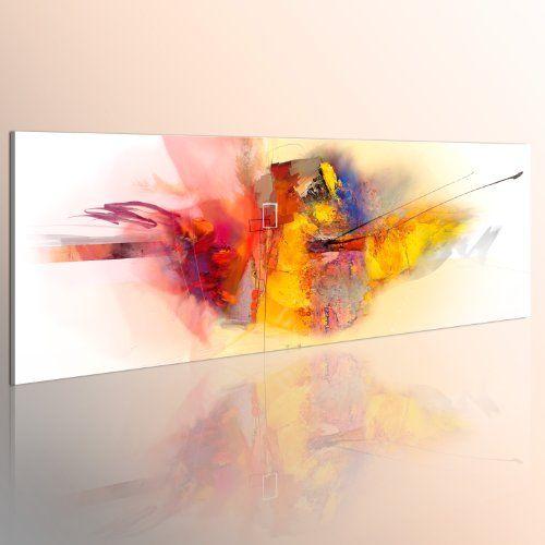 murando handbemalte bilder auf leinwand abstrakt 120x40 cm 1 teilig leinwandbilder wandbilder xxl kunst wandbild modern farbe 0101 58 online kaufe kunstdrucke druck billige