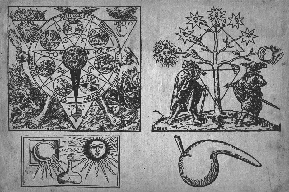 Chaosophia218 — Alchemical Engravings.