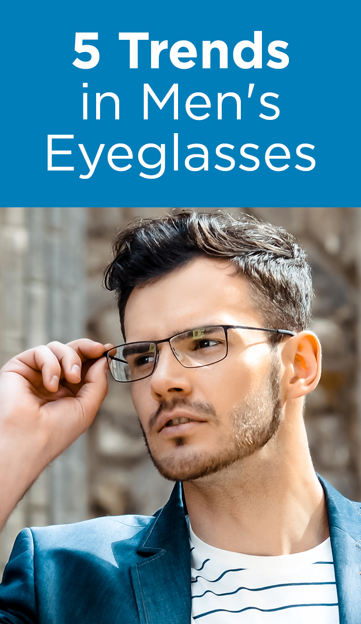 7ef9af6a02 Latest trends in fashionable men s eyeglasses.