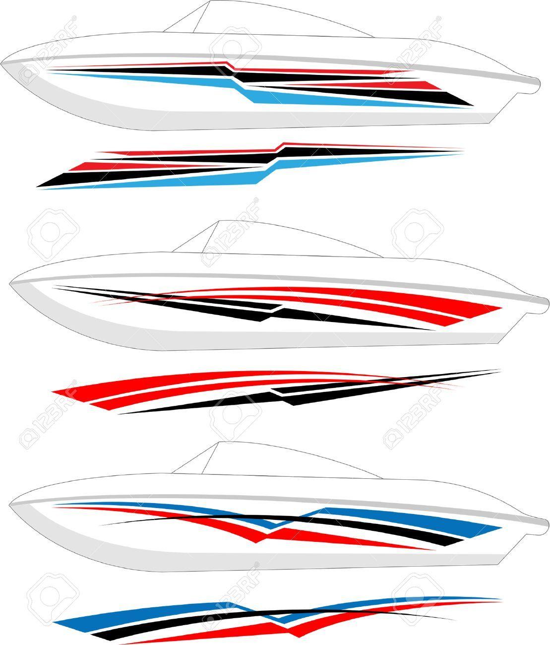 Boat Graphics Stripe Vinyl Ready Vector Art Vector Art Vinyl Graffiti Lettering Fonts