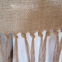 Nice DIY Burlap Tablecloth No Sew Solutions   Project Wedding